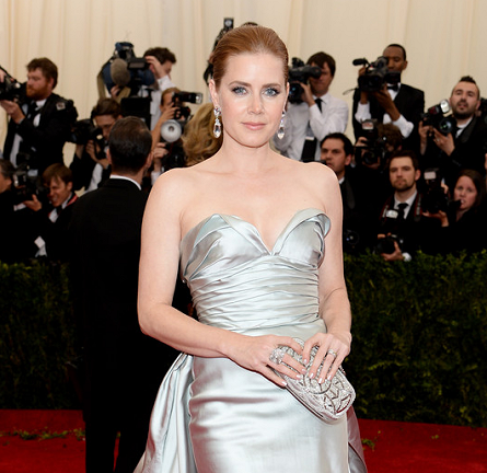 Amy Adams in Oscar de la Renta | MET Gala 2014