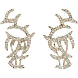 Ana Khouri Diamond Arachnid Earrings