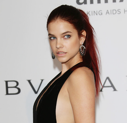 Barbara Palvin in Elie Saab | amfAR's Cinema Against AIDS Gala 2014