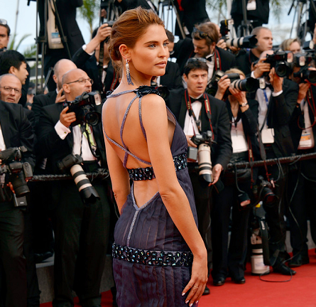 Bianca Balti in Chanel Couture | 'Clouds of Sils Maria' Premiere - 2014 Cannes Film Festival