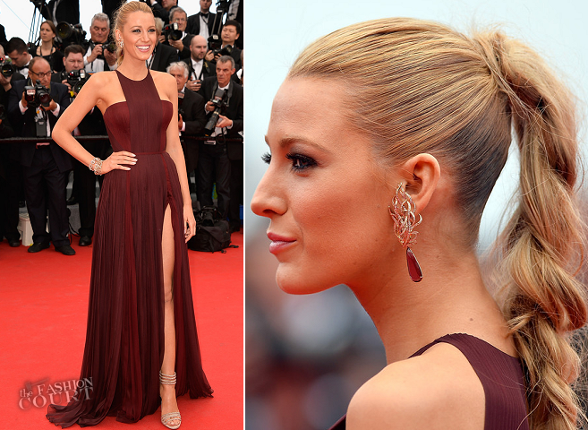 Blake Lively in Gucci Première | 'Grace of Monaco' Premiere - 2014 Cannes Film Festival Opening Ceremony