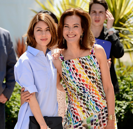 Carole Bouquet in Chanel | 2014 Cannes Film Festival Jury Photocall
