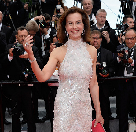 Carole Bouquet in Chanel Couture | 'Grace of Monaco' Premiere - 2014 Cannes Film Festival Opening Ceremony