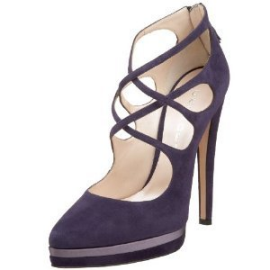 Casadei 3576 Strappy Suede Pumps