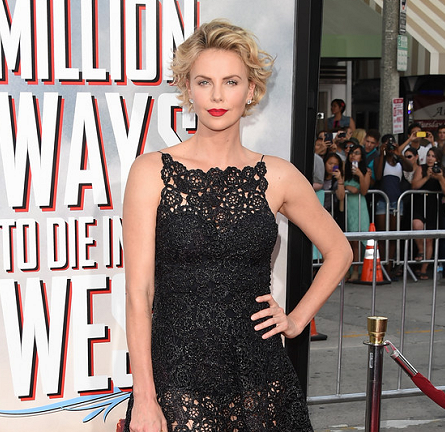 Charlize Theron in Dior | 'A Million Ways To Die In The West' LA Premiere
