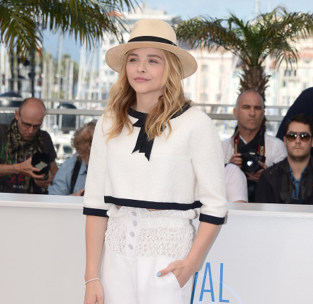 Chloë Grace Moretz in Chanel | 'Clouds of Sils Maria' Photocall - 2014 Cannes Film Festival