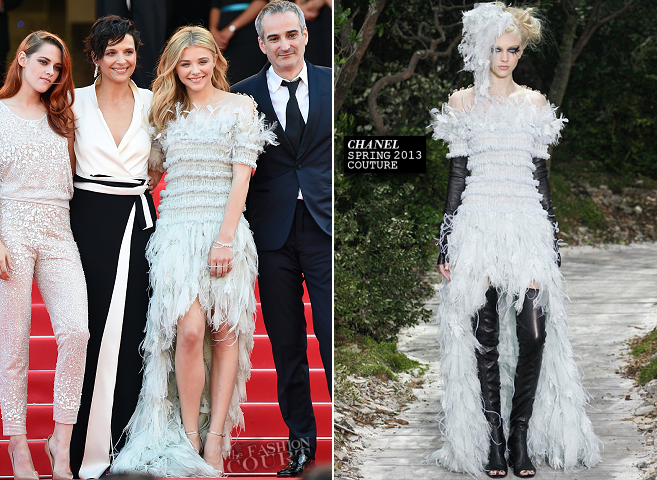Chloë Grace Moretz in Chanel Couture | 'Clouds of Sils Maria' Premiere - 2014 Cannes Film Festival