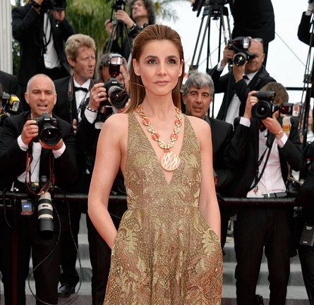 Clotilde Courau in Valentino | 'The Search' Premiere - 2014 Cannes Film Festival