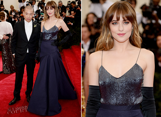 Dakota Johnson in Jason Wu | MET Gala 2014