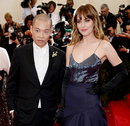 Dakota Johnson in Jason Wu | MET Gala 2014
