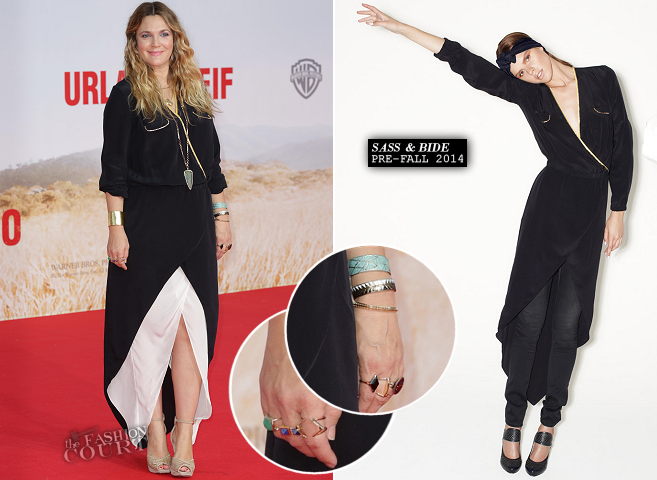Drew Barrymore in Sass & Bide | 'Blended' Berlin Premiere