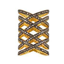 ELAHN Jewels Criss Cross Ring