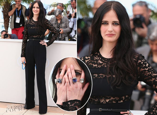 Eva Green in Elie Saab | 'The Salvation' Photocall - 2014 Cannes Film Festival