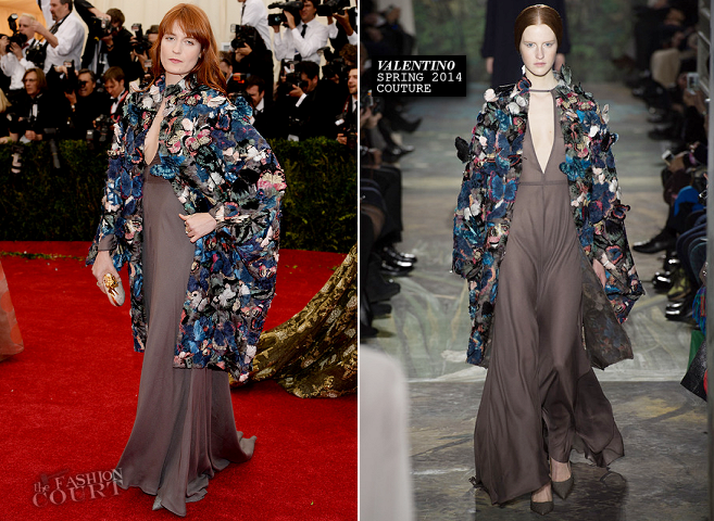 Florence Welch in Valentino Couture | MET Gala 2014