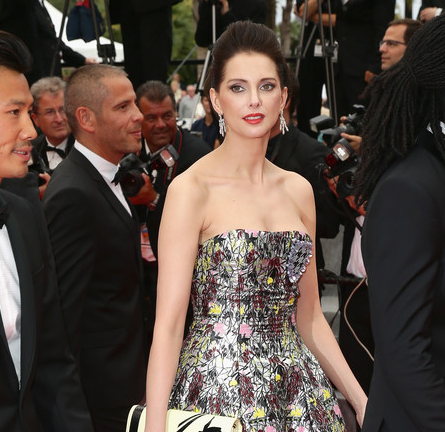 Frederique Bel in Dior | 'Jimmy's Hall' Premiere - 2014 Cannes Film Festival