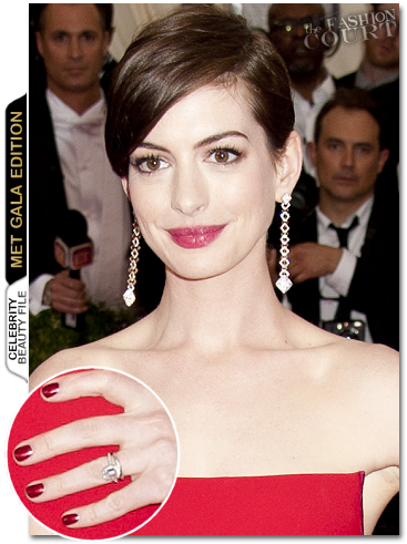 Met Ball Beauty: Get The Look - Anne Hathaway