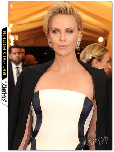 MET Ball Beauty: Get The Look - Charlize Theron