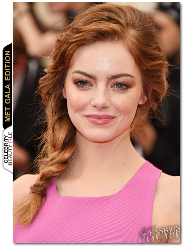 MET Ball Beauty: Get The Look - Emma Stone