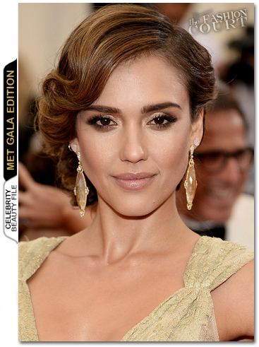 MET Ball Beauty: Get The Look - Jessica Alba
