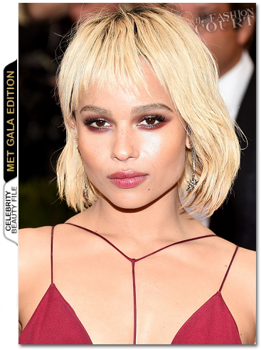 MET Ball Beauty: Get The Look - Zoe Kravitz