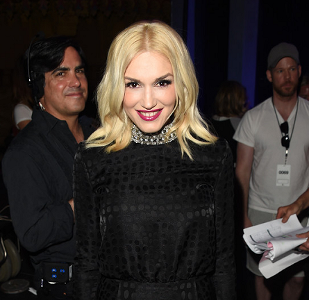Gwen Stefani in Saint Laurent | 2014 iHeartRadio Music Awards