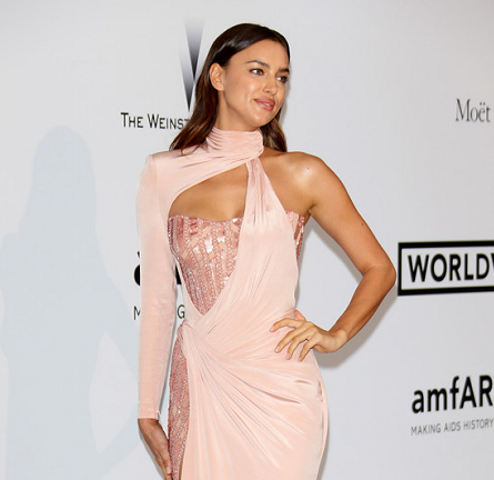 Irina Shayk in Atelier Versace | amfAR's Cinema Against AIDS Gala 2014
