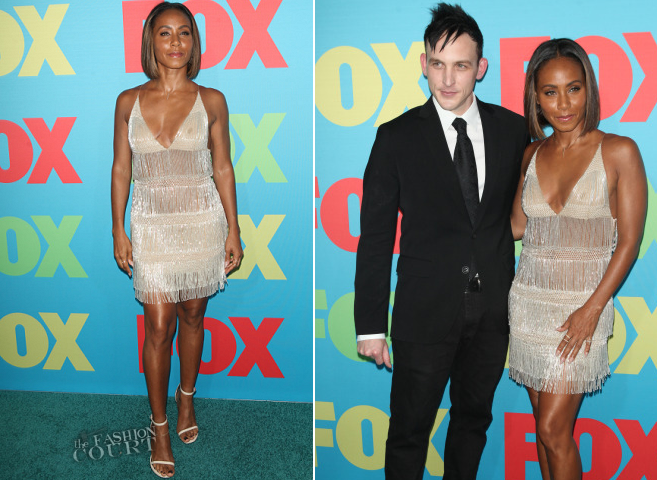Jada Pinkett Smith in Alberta Ferretti | FOX Fanfront 2014