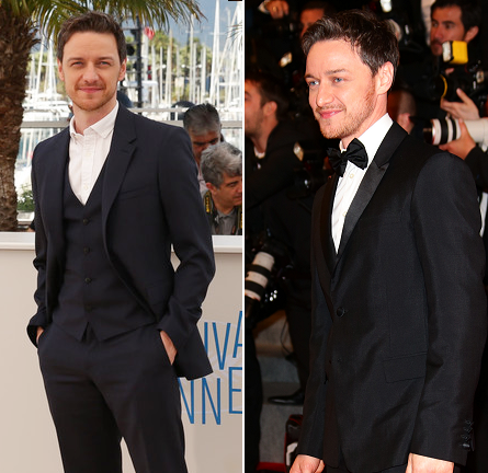 James McAvoy in Burberry Prorsum & Prada | 'The Disappearance Of Eleanor Rigby' - 2014 Cannes Film Festival