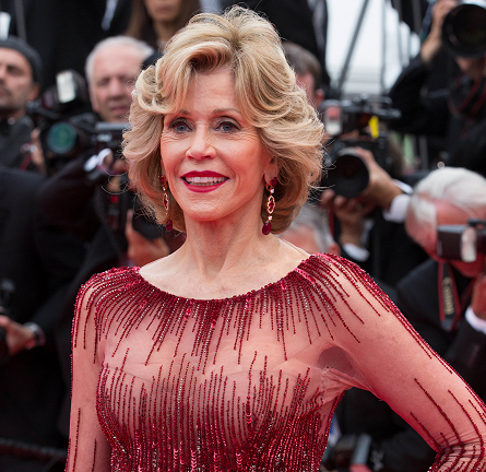 Jane Fonda in Elie Saab Couture | 'Grace of Monaco' Premiere - 2014 Cannes Film Festival Opening Ceremony