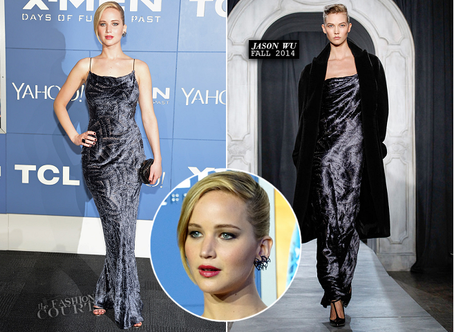 Jennifer Lawrence in Jason Wu | 'X-Men: Days of Future Past' NYC Premiere