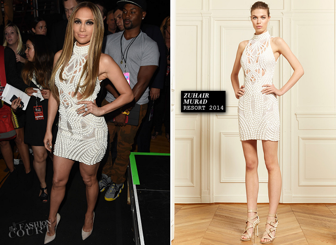 Jennifer Lopez in Zuhair Murad | 2014 iHeartRadio Music Awards