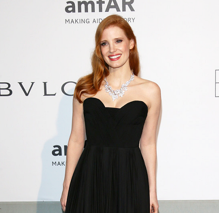 Jessica Chastian in Givenchy | amfAR's Cinema Against AIDS Gala 2014