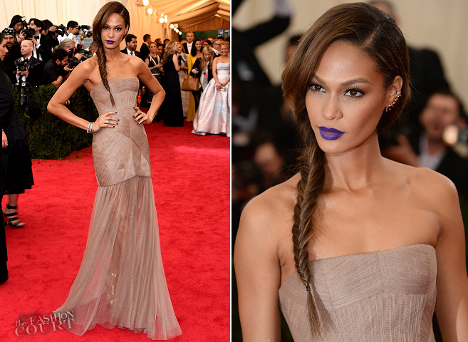 Joan Smalls in Vera Wang | Met Gala 2014
