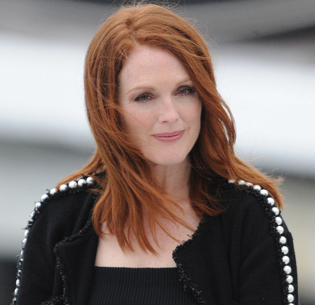 Julianne Moore in Chanel | 'Le Grand Journal' - 2014 Cannes Film Festival