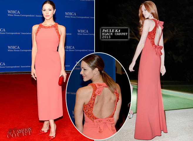 Katharine McPhee in Paule Ka | 2014 White House Correspondents' Dinner