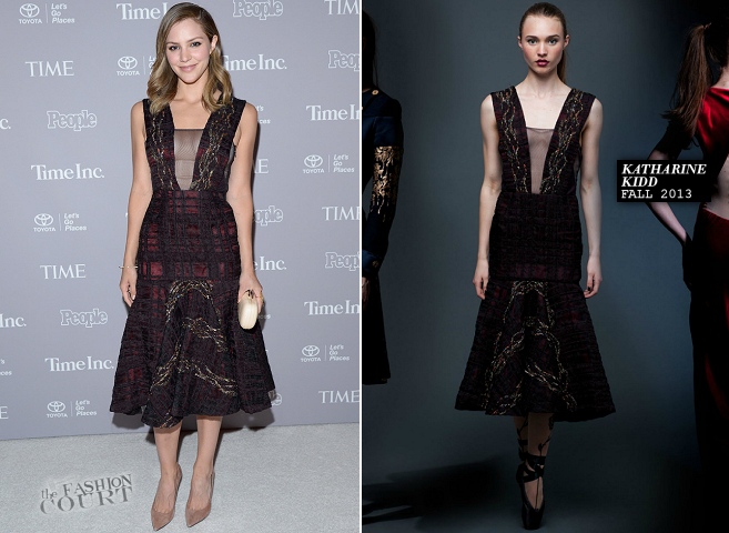 Katharine McPhee in Katharine Kidd | People/Time White House Correspondents' Weekend Party 2014