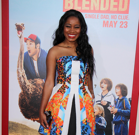 Keke Palmer in Peter Pilotto | 'Blended'Hollywood Premiere