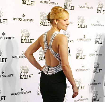 Kristen Bell in Zuhair Murad | New York City Ballet Spring Gala 2014