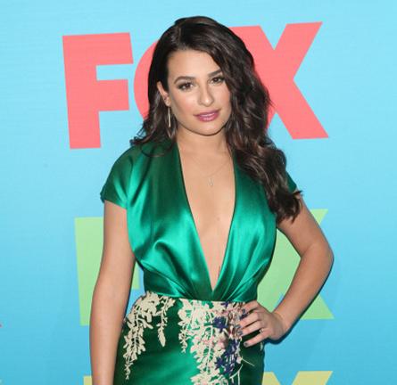 Lea Michele in Blumarine | FOX Fanfront 2014