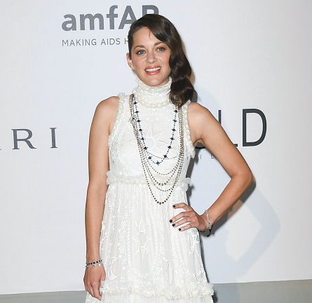 Marion Cotillard in Alexander McQueen | amfAR's Cinema Against AIDS Gala 2014