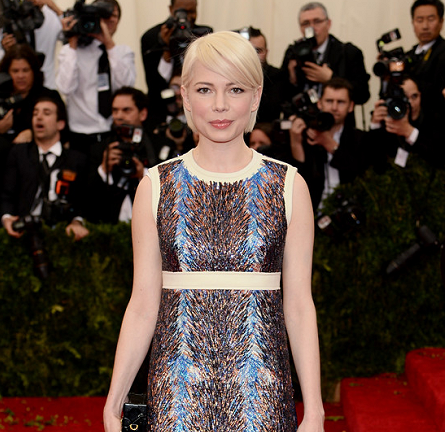 Michelle Williams in Louis Vuitton | MET Gala 2014