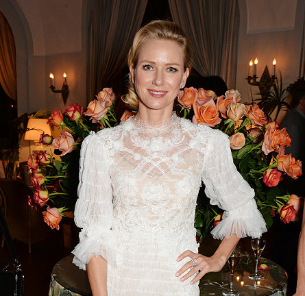 Naomi Watts in Marchesa | Charles Finch Filmmakers Dinner - 2014 Cannes Film Festival