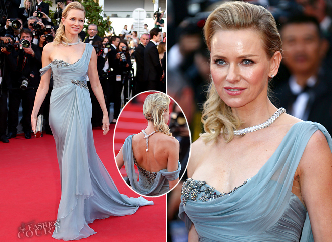 Naomi Watts in Marchesa | 'How To Train Your Dragon 2' Premiere - 2014 Cannes Film Festival