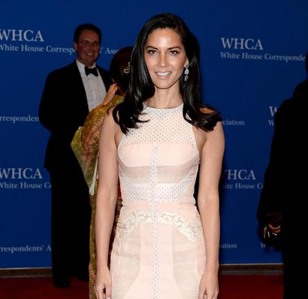 Olivia Munn in J. Mendel | 2014 White House Correspondents' Dinner