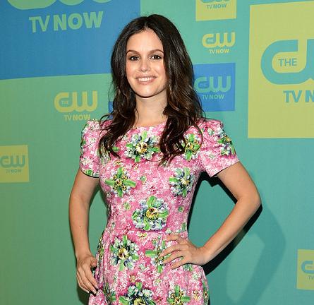 Rachel Bilson in Mary Katrantzou | The CW Upfronts 2014