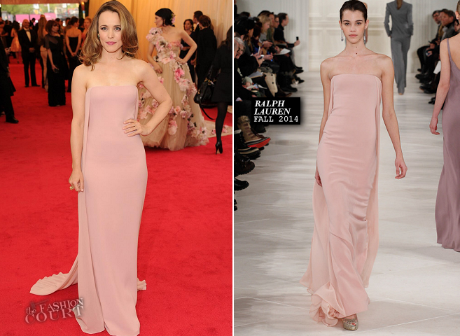 Rachel McAdams in Ralph Lauren Collection | MET Gala 2014