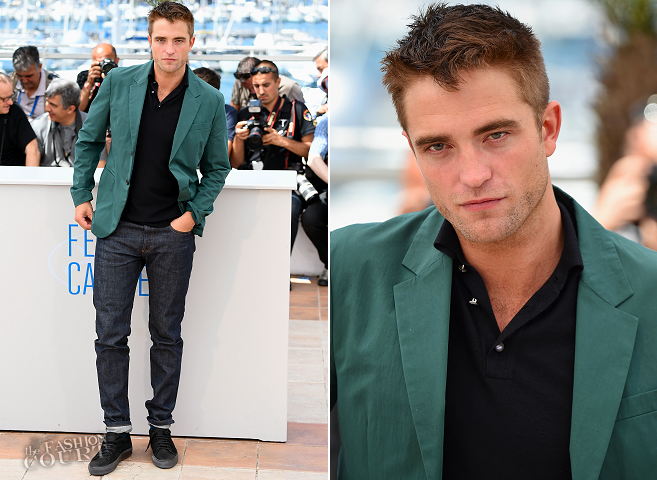 Robert Pattinson in Marni, Marc Jacobs & A.P.C. | 'The Rover' Photocall - 2014 Cannes Film Festival