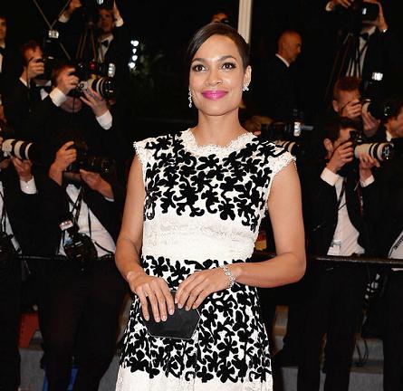 Rosario Dawson in Dolce & Gabbana   'The Captive' Premiere - 2014 Cannes Film Festival