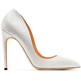 Rupert Sanderson ELBA Leather Pumps in White