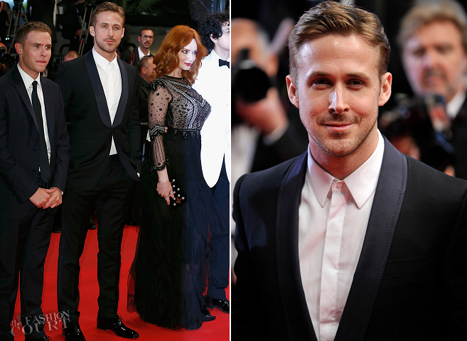 Ryan Gosling in Gucci | 'Lost River' Premiere - 2014 Cannes Film Festival